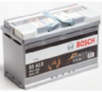 Автомобильные аккумуляторы BOSCH AGM 95Ач EN850А о.п. (353х175х190, B13) S5 A13 / 595 901 085 Обратная полярность Евро