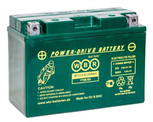 Мото аккумулятор MT12-9-А