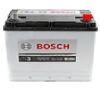 Автомобильные аккумуляторы BOSCH 45Ач EN300А о.п. (219х135х225, B01) S3 016 / 545 077 030 Обратная полярность Азия