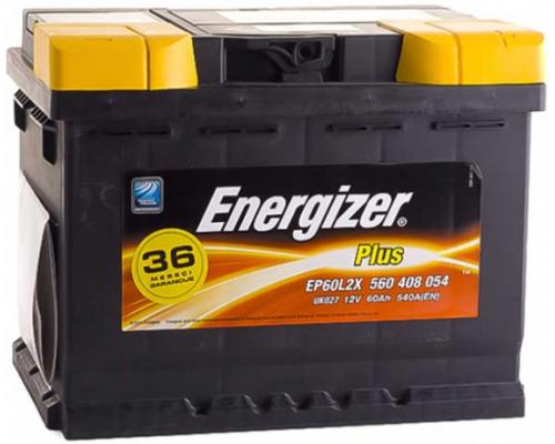 ENERGIZER 60Ач EN640А