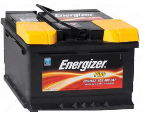 ENERGIZER PLUS 53Ач EN470А