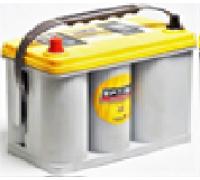 Автомобильные аккумуляторы OPTIMA Yellow Top 38Ач EN510А п.п. (237х129х227, B00) 8070-176 / YT S-2,7 / BCI D51, 545157 узк.кл. Прямая полярность США