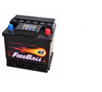Автомобильные аккумуляторы FIRE BALL 45Ач EN330А о.п. (212х175х190, B13) 45NR Обратная полярность