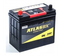 Автомобильные аккумуляторы ATLAS 52Ач EN480А п.п. (234х127х220, B00) MF65B24R узк.кл. Прямая полярность Азия