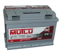 Автомобильные аккумуляторы Mutlu SFB M3 75Ач EN640А п.п. (260х173х225, B00) D26.75.064.B Прямая полярность Азия