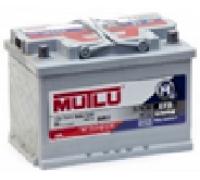 Автомобильные аккумуляторы Mutlu EFB 75Ач EN480А о.п. (278х175х190, B13) FL3.75.048.A Обратная полярность Евро