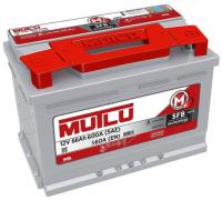 Автомобильные аккумуляторы Mutlu SFB M2 66Ач EN560А о.п. (278х175х175, B13) LB3.66.056.A / SMF 56618 Обратная полярность Евро