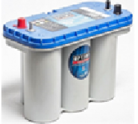 Автомобильные аккумуляторы OPTIMA BlueTop 75Ач EN975А uni (325х165х238, B00) 8052-188 / BT DC-5,5 / BCI D31M Универсальная полярность яхт