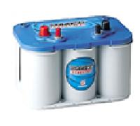 Автомобильные аккумуляторы OPTIMA BlueTop 55Ач EN765А п.п. (254х175х200, B01) 8016-253 / BT DC-4.2 / BCI D34M Прямая полярность яхт