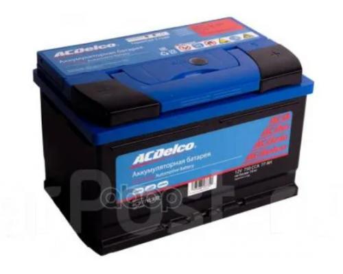 Автомобильный аккумулятор  ACDelco 77 А/ч