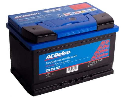 Аккумулятор  ACDelco 77 А/ч