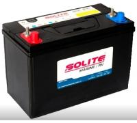 Автомобильные аккумуляторы SOLITE DC 90Ач EN640А п.п. (303х172х223, B01) DC 27 Прямая полярность яхт