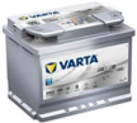 Автомобильные аккумуляторы Varta Silver Dynamic AGM 60Ач EN680А о.п. (242х175х190, B13) D52 / 560 901 068 Обратная полярность Евро