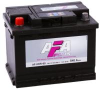 Автомобильные аккумуляторы AFA PLUS 60 А/ч 560 408 054 обратная R+ EN 540A 242x175x190 AF-H5-60 AF-H5-60 Обратная полярность