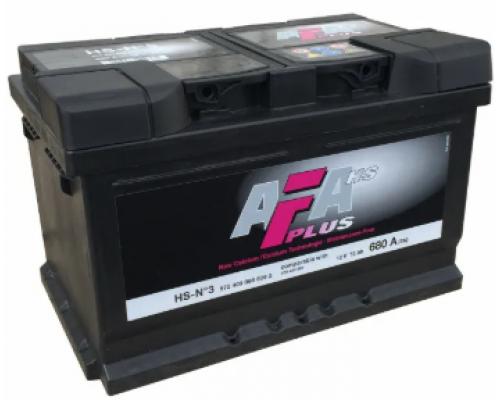 AFA 72Ач EN680А