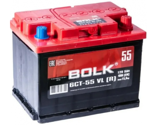 BOLK 55Ач EN450А