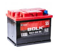 Автомобильные аккумуляторы BOLK Standart 55 А/ч прямая L+ EN 450A 242x175x190 AB 551 AB 551 Прямая полярность