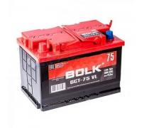 Автомобильные аккумуляторы BOLK Standart 75 А/ч прямая L+ EN 600A 277x175x190 AB 771 Прямая полярность