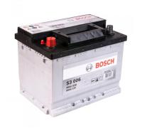 Автомобильные аккумуляторы BOSCH Silver 56 А/ч 556 400 048 обратная R+ EN 480A 242x175x190 S3 005 0 092 S30 050 Обратная полярность