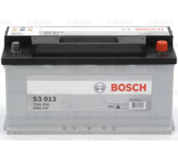 Автомобильные аккумуляторы BOSCH Silver 90 А/ч 590 122 072 обратная R+ EN 720A 353x175x190 S3 013 0 092 S30 130 Обратная полярность