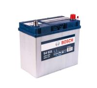 Автомобильные аккумуляторы BOSCH Silver 45 А/ч 545 156 033 обратная R+ EN 330A 238x129x227 S4 021 0 092 S40 210 Обратная полярность