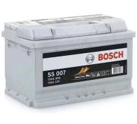 Автомобильные аккумуляторы BOSCH Silver Plus 74 А/ч 574 402 075 обратная R+ EN 750A 278x175x175 S5 007 0 092 S50 070 Обратная полярность