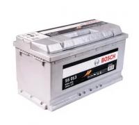 Автомобильные аккумуляторы BOSCH Silver Plus 100 А/ч 600 402 083 обратная R+ EN 830A 353x175x190 S5 013 0 092 S50 130 Обратная полярность