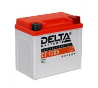 Автомобильные аккумуляторы DELTA Battery AGM 5 А/ч обратная R+ EN80 А 114x70x106 YTX5L-BS CT 1205 Обратная полярность