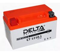 Автомобильные аккумуляторы DELTA Battery AGM 10 А/ч прямая L+ EN190 А 150x86x93 YTZ10S CT 1210.1 Прямая полярность