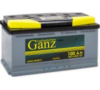 Автомобильные аккумуляторы GANZ 100 А/ч ОБР 353x175x190 EN820 GA1000 GANZ GA1000 Обратная полярность