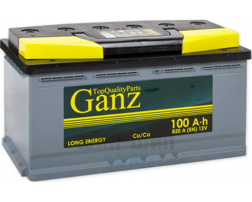 GANZ 100Ач EN820А