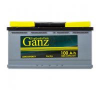 Автомобильные аккумуляторы GANZ 100 А/ч 353x175x190 EN820 GANZ GA1001 Прямая полярность