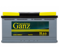 Автомобильные аккумуляторы GANZ 90 А/ч 353x175x190 EN770 GANZ GA901 Прямая полярность Груз