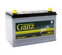 Автомобильные аккумуляторы GANZ ASIA 100 А/ч Прямая EN830 А 304x173x220 GAA1001 Прямая полярность Груз