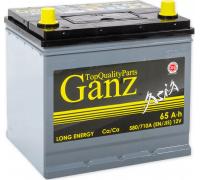 Автомобильные аккумуляторы GANZ ASIA 65 А/ч ОБР 232x173x220 EN580 GAА650 GANZ GAА650 Обратная полярность Груз