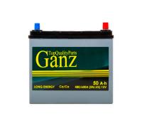 Автомобильные аккумуляторы GANZ ASIA 50 А/ч ОБР 236x129x220 EN480 выс узк кл GAА500 GANZ GAА500 Обратная полярность Груз