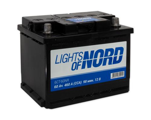 Lights of Nord 60Ач EN460А