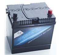 Автомобильные аккумуляторы MAZDA Standart 60 А/ч обратная R+ EN 520A 230x173x222 PE1T185209B Обратная полярность