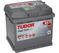 Автомобильные аккумуляторы TUDOR High-Tech 53 А/ч обратная R+ EN 540A 207x175x190 TA530 TA530 Обратная полярность