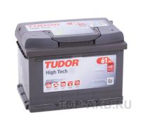Автомобильные аккумуляторы TUDOR High-Tech 61 А/ч обратная R+ EN 600A 242x175x175 TA612 TA612 Обратная полярность