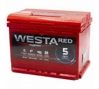 Автомобильные аккумуляторы WESTA RED 60 А/ч 242x175x190 EN640 WESTA 6СТ-60VLRED Прямая полярность