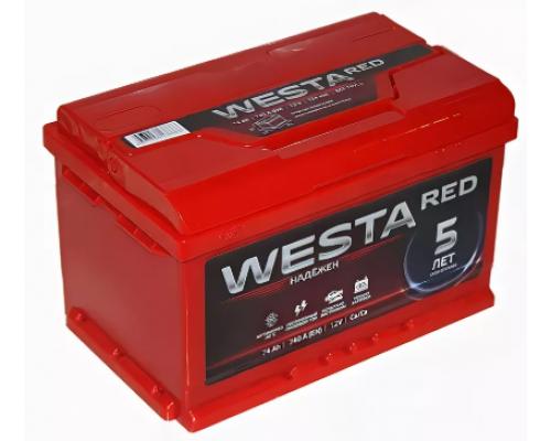 WESTA 74Ач EN760А