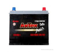 Автомобильные аккумуляторы АКТЕХ ASIA 65 А/ч обратная R+ EN 550A 235x175x221 ATSTA 65-3-R Обратная полярность