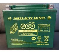 Мото аккумулятор WBR MT12-20-B