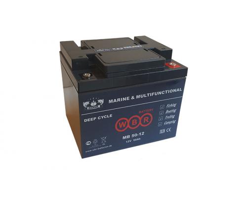 Аккумулятор для лодок WBR MB 50-12