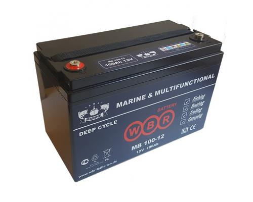 Аккумулятор для лодок WBR MB 100-12