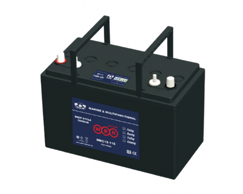 Аккумулятор для лодок WBR MBC 12-115-2