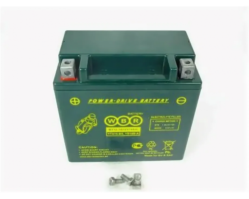 Мото аккумулятор WBR MT12-18-B