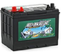 Автомобильные аккумуляторы ATLAS E-NEX 80Ач EN680А п.п. (257х172х220, B01) DC24MF Прямая полярность Яхт