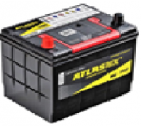 Автомобильные аккумуляторы ATLAS 65Ач EN580А п.п. (230х172х220, B00) MF75D23R Прямая полярность Азия